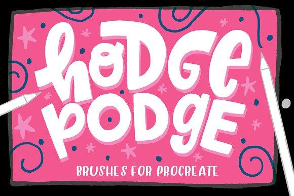 Hodge Podge Brushes For Procreate