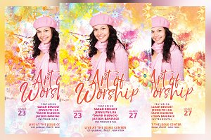 Art of Worship Church Conference Fly