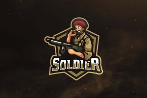 Soldier Sport and Esports Logo
