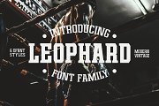 Leophard Font Family