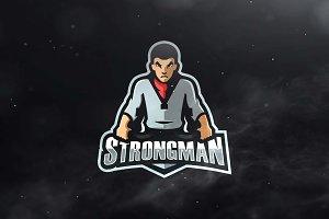 Strongman Sport and Esports Logo
