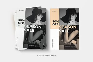 Sale Flyer + Gift Voucher