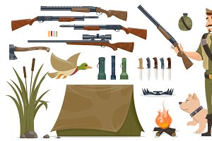 Hunting Elements Set
