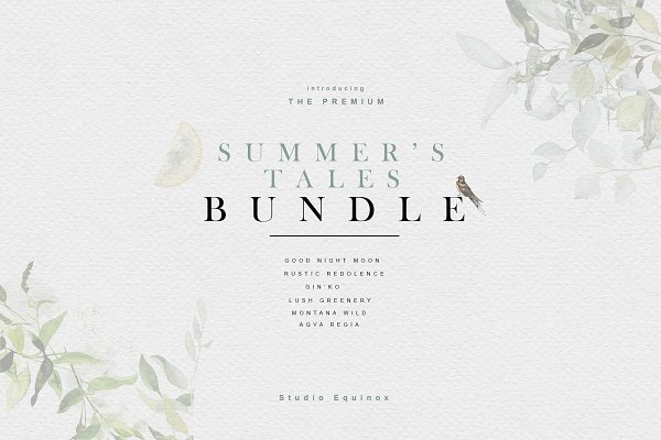 Objects: studioequinox - Summer's Tales BUNDLE