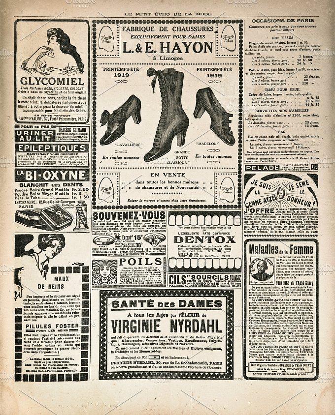 Vintage newspaper Antique magazine Business Photos on Creative – Vintage Newspaper
