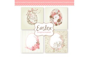Easter eggs Clip Art. Easter eggs