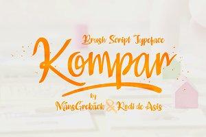 Kompar - Five Fonts!