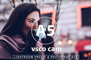 VSCO Cam A5 Inspired For blogger