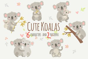 Koalas. Characters and Patterns
