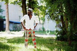 Stylish african american man