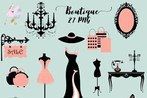Boutique Clipart
