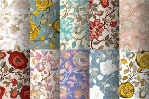 10 Decorative Floral Patterns