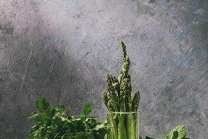 Asparagus ang greens