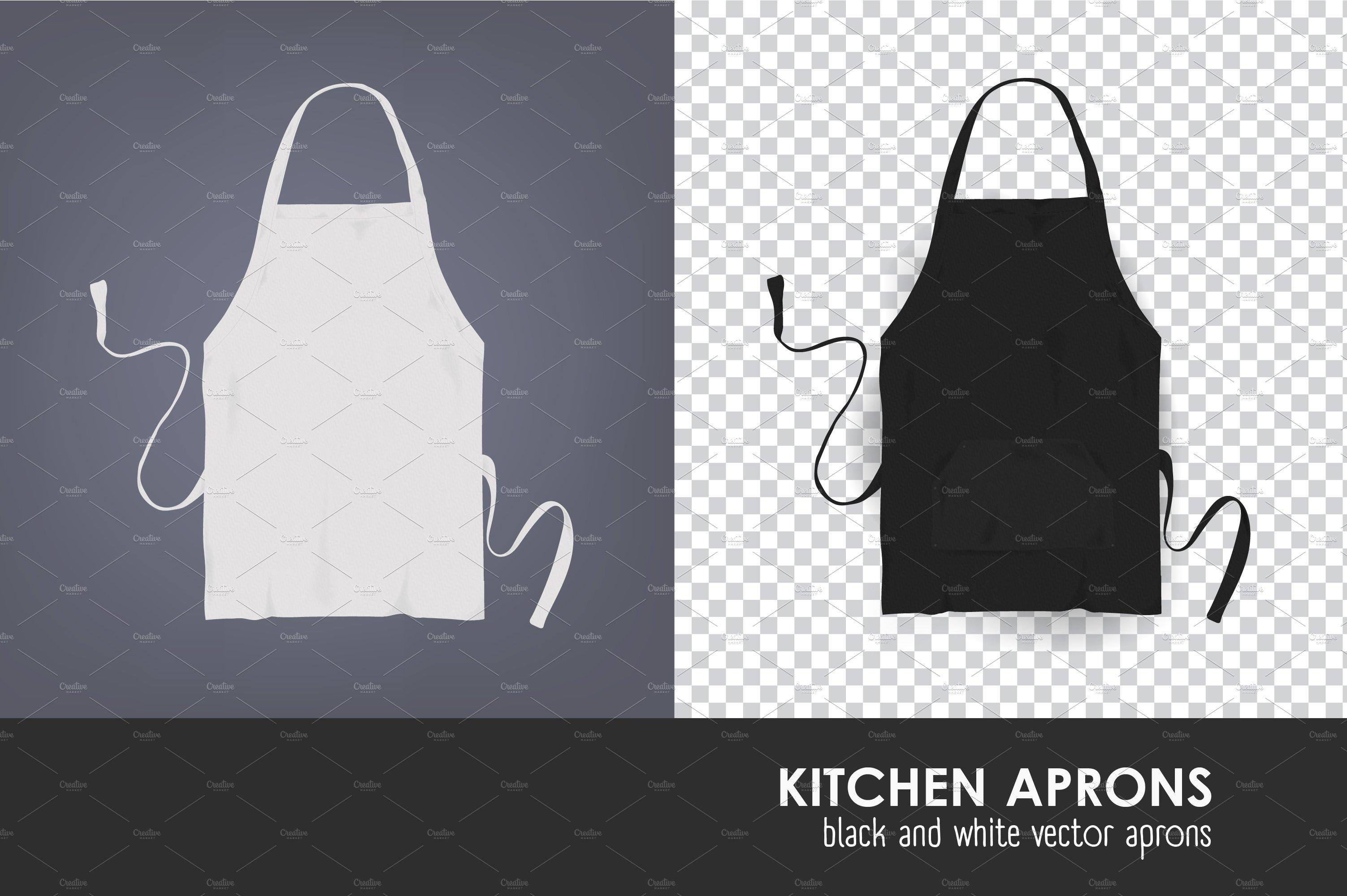 Kitchen apron ~ Product Mockups ~ Creative Market