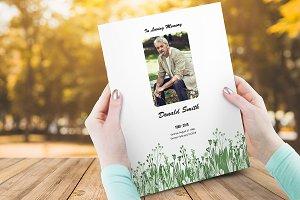 Funeral Program Template V02