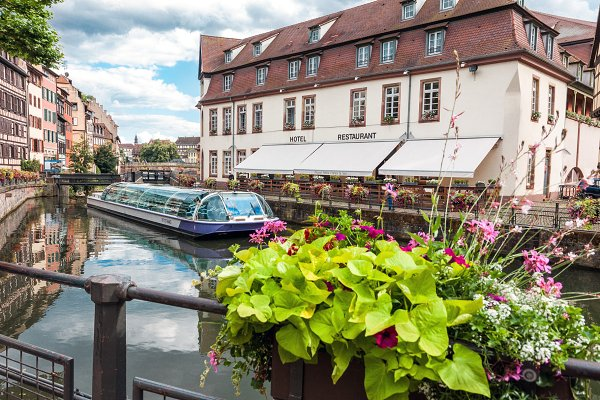 Architecture Stock Photos: BOOCYS - La Petite France view in Strasbourg