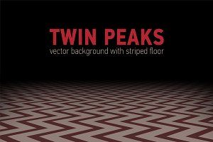 """Red room from film """"Twin peaks"""""""
