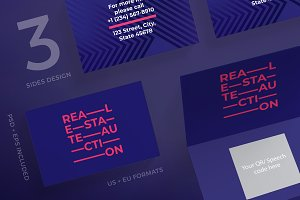 Business Cards | Real Estate Auction