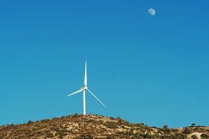 Alternative energy. Paphos District,