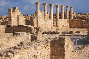 Ancient ruins of Kato Pafos archeolo