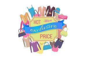 Fifteen Percent Off Best Exclusive Discount Price