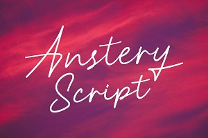 Anstery Script