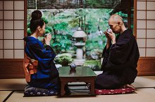 Senior couple moments in Kyoto by Fabio formaggio in People