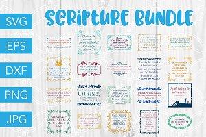 Christian SVG Bundle Bible Verse SVG