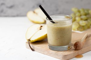 smoothies pear