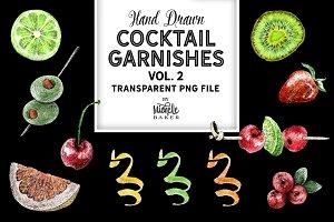 Fruity Cocktail Garnishes Vol 2