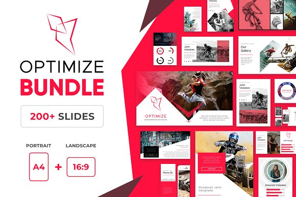 Optimize Modern Powerpoint Bundle