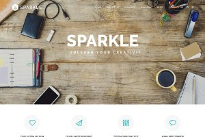 SPARKLE - Responsive HTML Template