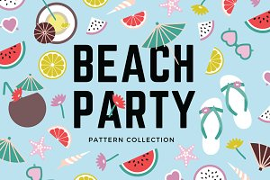 Beach Party Pattern Collection
