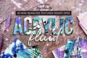 Acrylic Fluid – 30 Textures