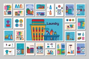 Laundry Vector Pack