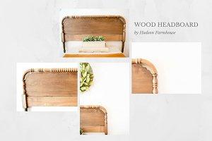 Farmhouse Wood Headboard
