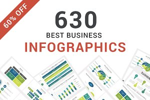 60% OFF - Infographics PowerPoint