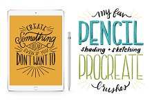 Favorite Pencil Procreate Brush Pack by Chelsea Ekberg in Brushes