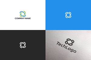 Tech logo design | Free UPDATE