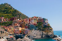 Fishing village in Italy