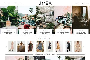 "Wordpress Theme ""Umea"""