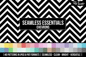 40 Seamless Chevrons Set
