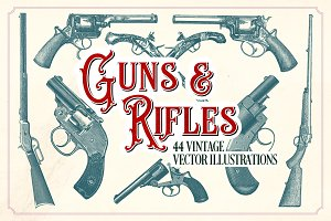 Vintage Guns & Rifles