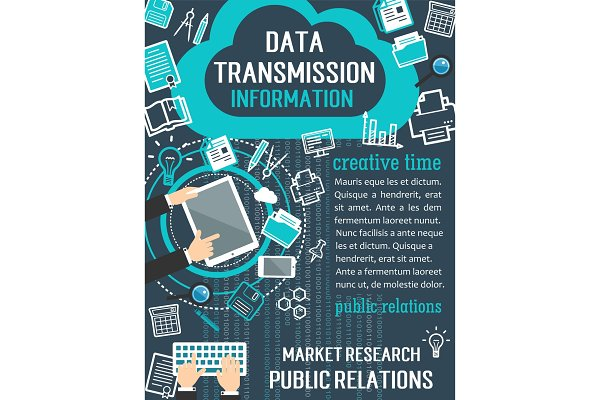 Public relation and market research…