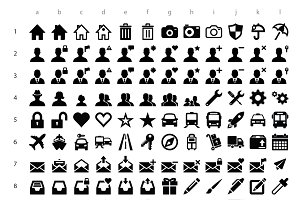 715 Icons of MultiSizeIcon Icon Set