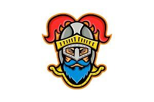 Knight Head Front Mascot