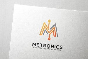 Metronics Letter M Logo