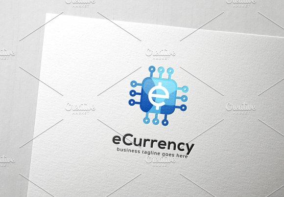 E Currency Logo Logos
