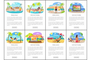 Freelance and Distant Work During Summer Posters