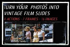 VINTAGE FILM PHOTO MOCKUP BUNDLE
